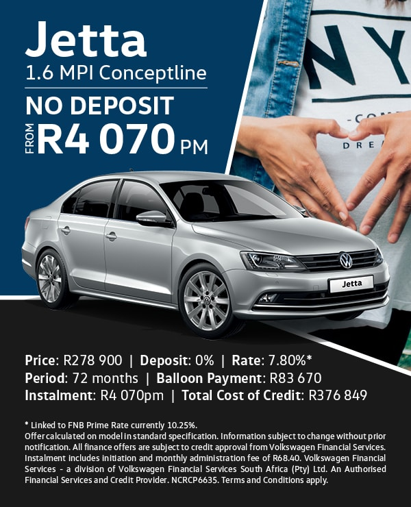 Pay No Deposit on this Jetta