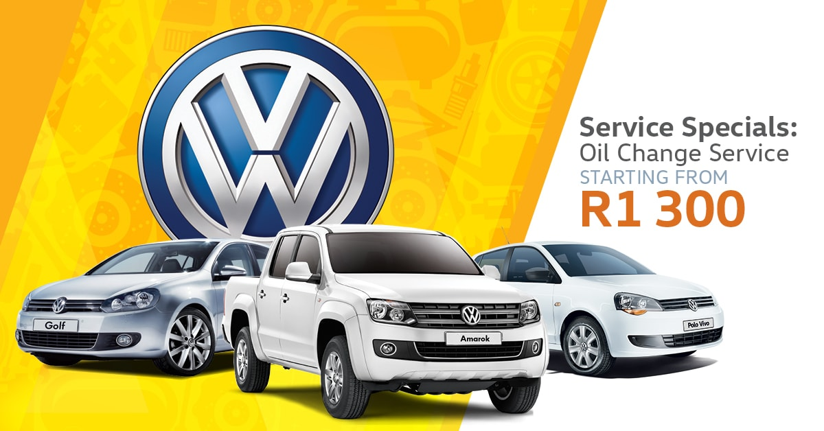 Get these great Volkswagen Service Specials