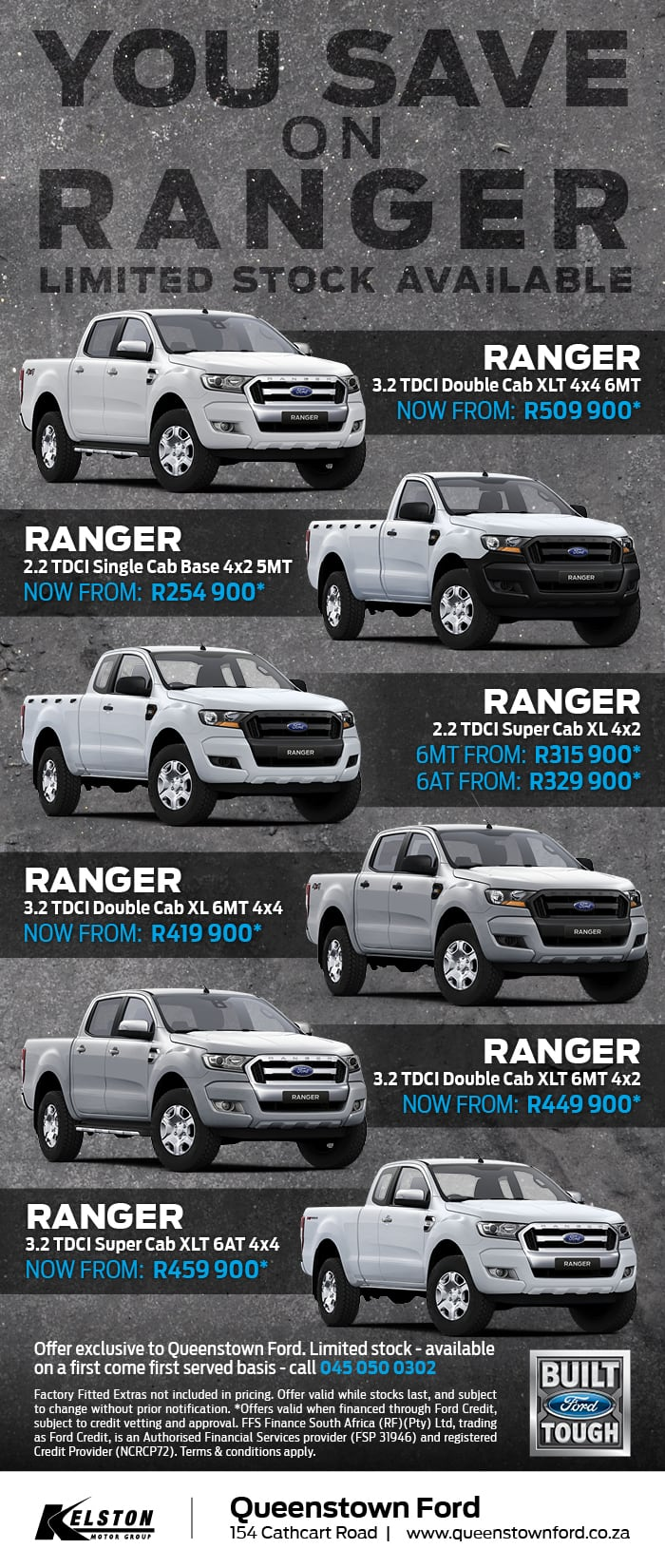 Save on your new Ford Ranger