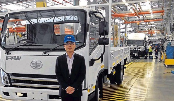 FAW Eastern Cape - FAW introduces new workhorse truck