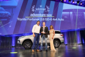 Toyota Scoops Adventure SUV and Brand of the Year – Cars.co.za Consumer Awards