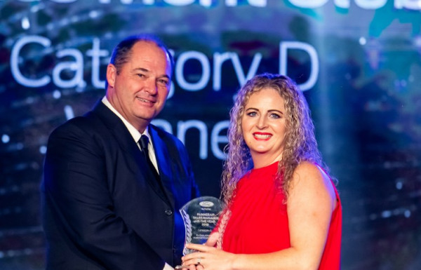 Runner-up Sales Manager of the year 2018 Award | Queenstown Ford