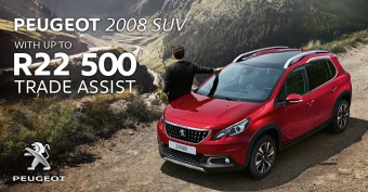 Get R22,500 Trading Assistance on the Peugeot 2008