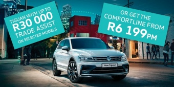 Two great offers on Tiguan valid only in March