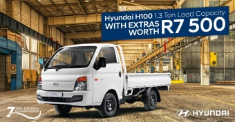 Get a great deal on the H100 and get R7500 worth of extras