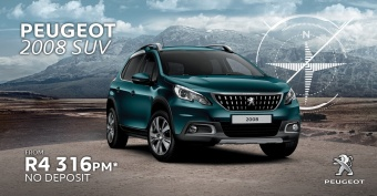 No Deposit on Peugeot 2008 SUV