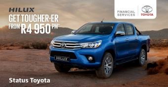 Get the Toyota Hilux 2.4 GD-6 RB SRX from R4 950pm