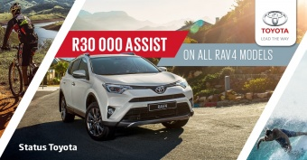 Get R30 000 assistance on Rav4