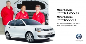 Get these great major and minor service specials on Polo and Polo Vivo