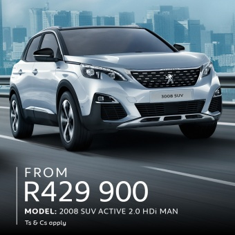 The Peugeot Winter Drive has these great offers on the 2008 & 3008