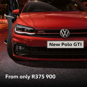 Book a test drive in the New Polo GTI