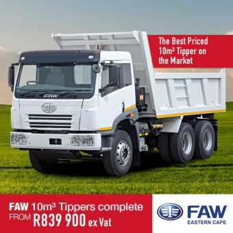 Get the best deals on our FAW Tippers