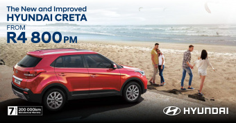 Drive the new Hyundai Creta 1.6 Executive Manual from R4800pm
