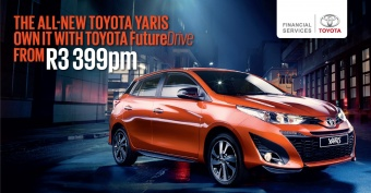 Own the new Yaris from only R3,399pm
