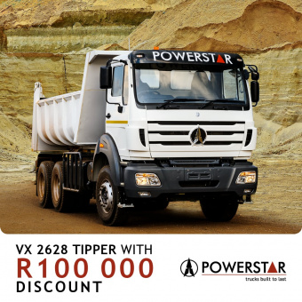 Get up to R100 000 on our VX trucks