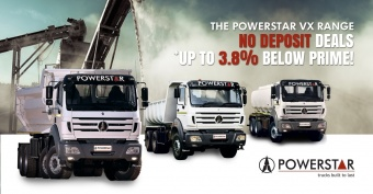 Get this great deal on our VX trucks and pay no deposit