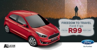 Get the Ford Figo from only R99 per day