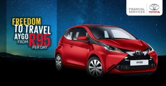 Get the Aygo from only R95 per day
