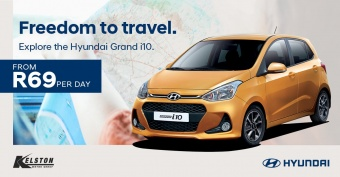 Get the freedom to explore with the Grand i10 from only R69 per day