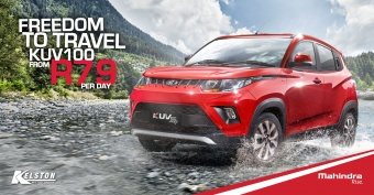 Drive the KUV100 NXT from R79 per day with no deposit
