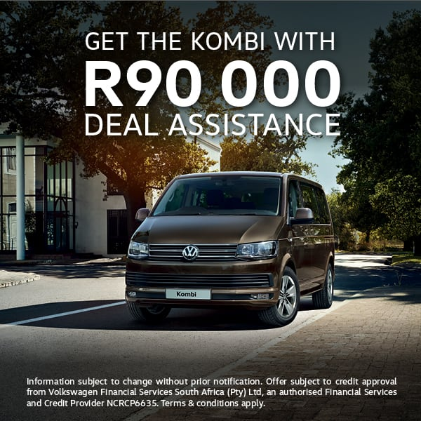 R90 000 assistance on Kombi