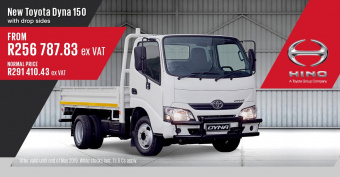 Get the New Toyota Dyna 150 and save