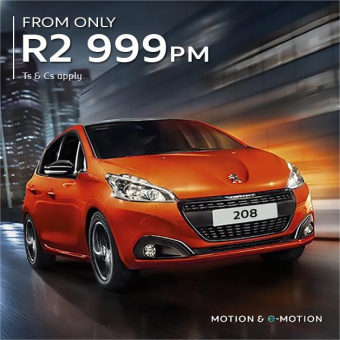 Get the stylish and affordable 208 from R2999pm