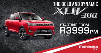 Get the bold and dynamic XUV300 from R3999pm