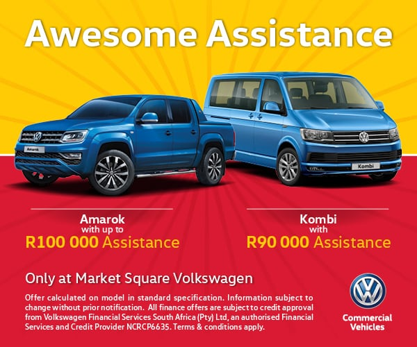 Get awesome assistance on our Amarok or Kombi