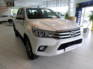 Toyota Hilux DC 2.8GD 6RB  RAIDER AT