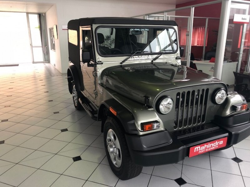 Mahindra Thar 2.5 CRDe (Soft Top with 2 Seats) 4X4 DE