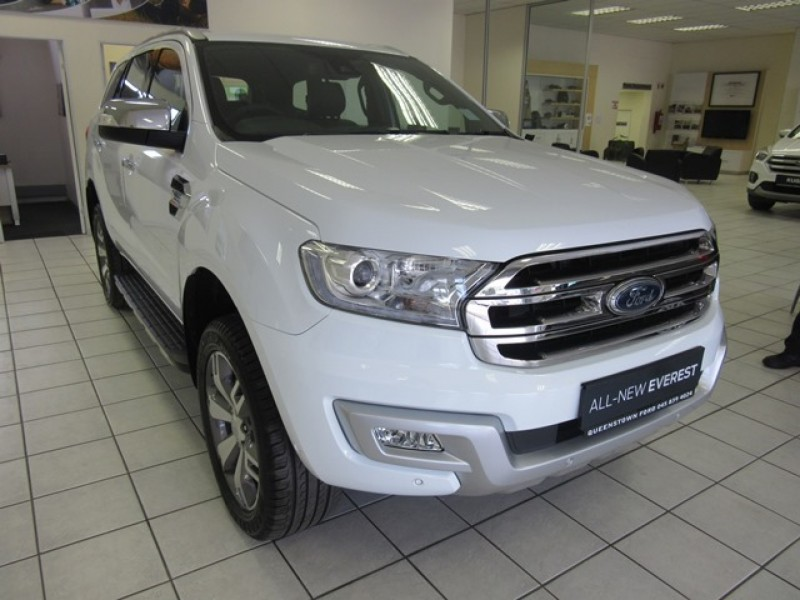 Ford Everest 3.2 TDCi Limited 6AT 4X4 (includes SYNC3&Navigation)